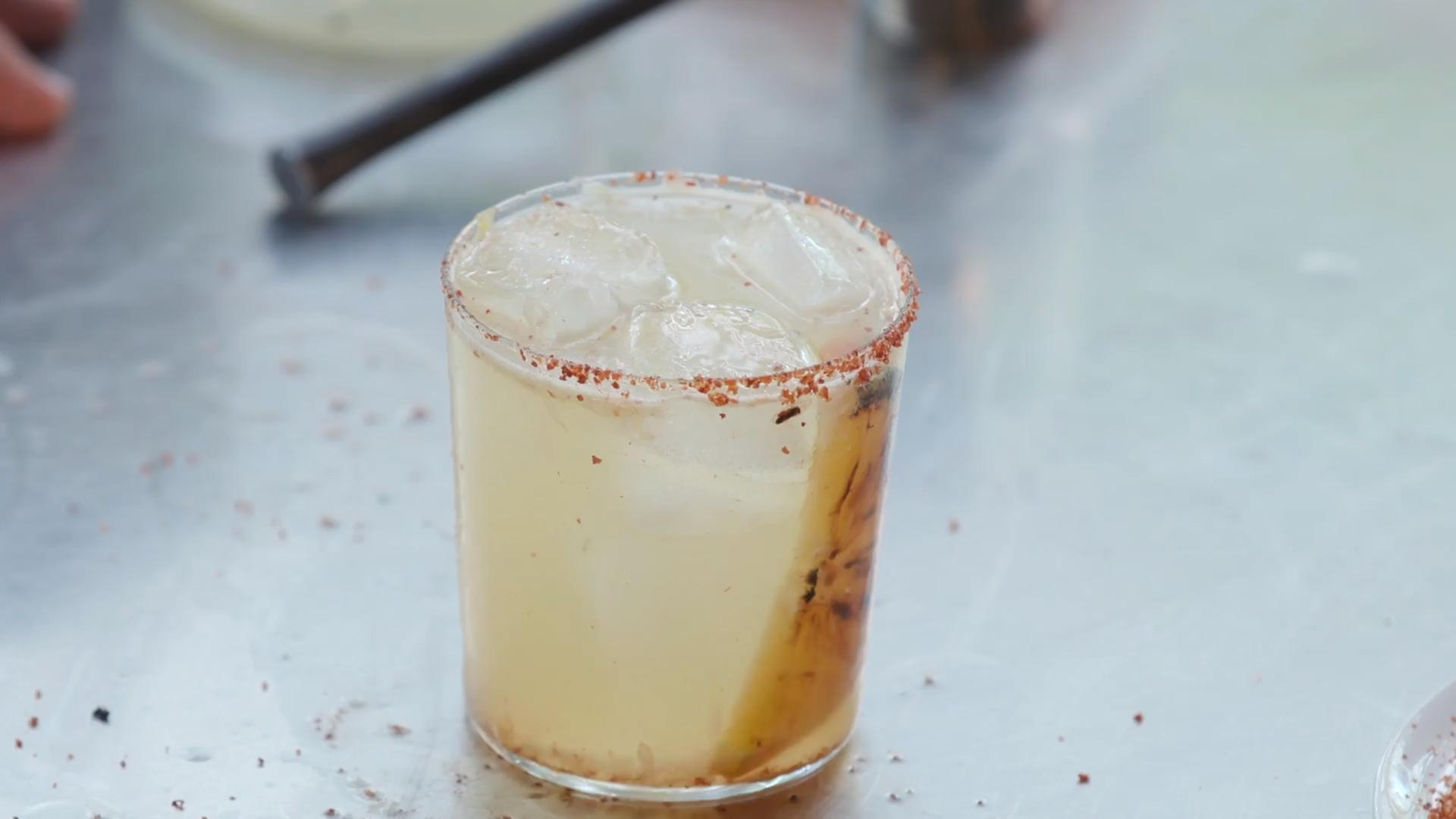 Charred Citrus Margarita